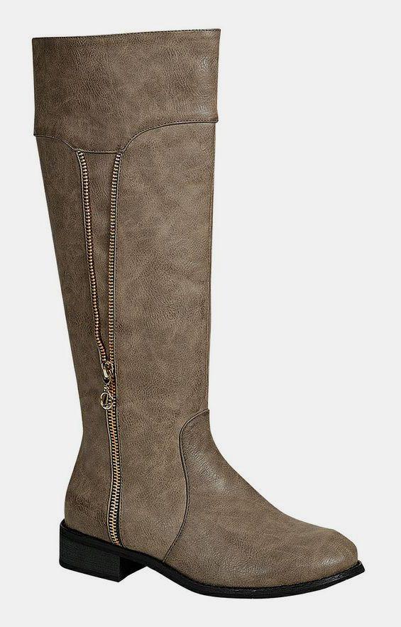 Gray Helen Boot