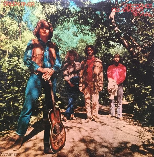 Creedence Clearwater Revival Green River 1969 CCR Vinyl LP Record Album Record: Good (G) Sleeve: Very Good Plus (VG+)