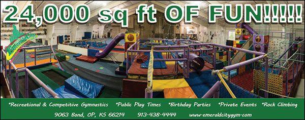Emerald City Gym in OP, KS