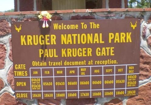 Kruger National Park, SA