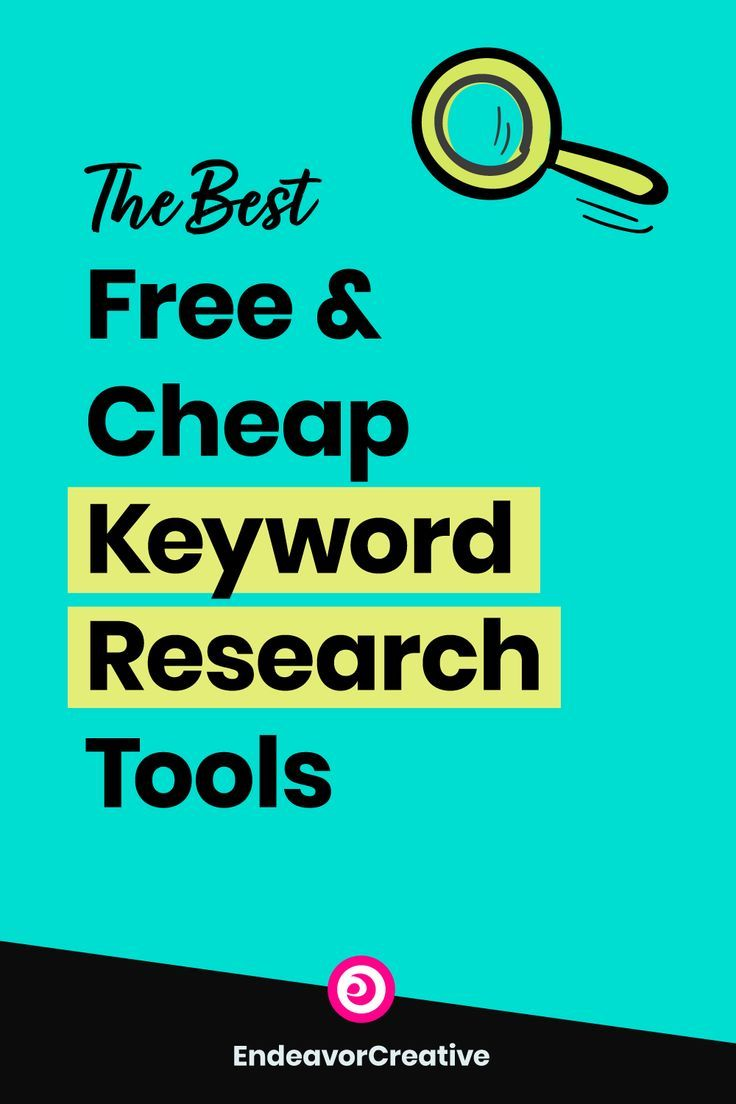 4 Free & Cheap Keyword Research Tools & How I Use Them in