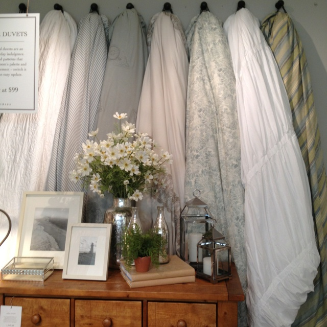 Comforter Storage As Decor