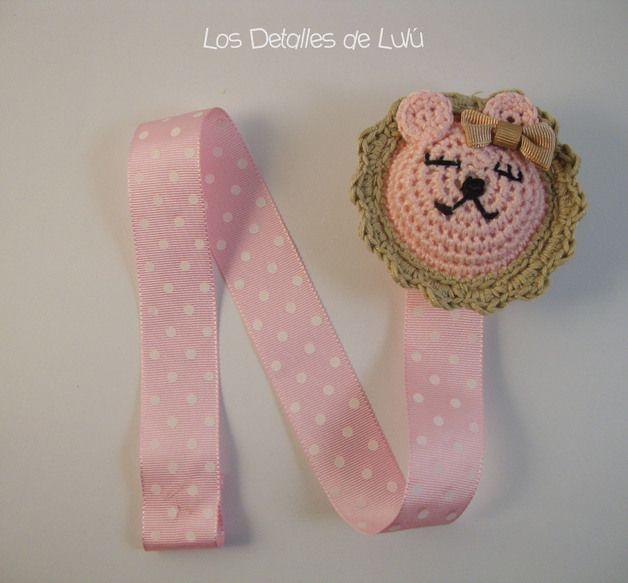 Cadenas para chupete - Chupetero bebé - hecho a mano por Los-Detalles-de-Lulu en DaWanda