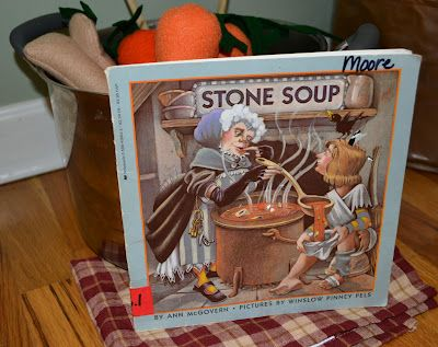 From The Hive: Ss stone soup- preschool style #Nutrition Lesson could be taught with this story also.