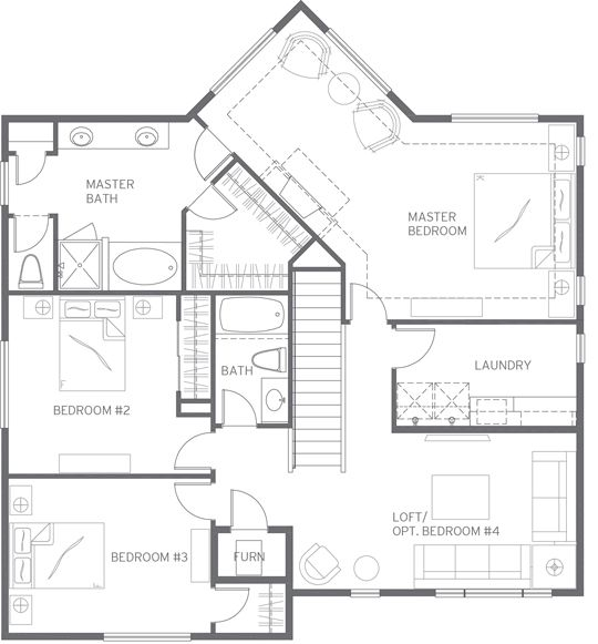 V240 top floor plan new quadrant home december 2015 for Floor quadrant