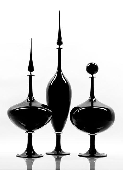 Contemporary pieces designed by LA based artist Joe Cariati.