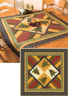 Christmas table topper quilt pattern                                                                                                                                                      Mais