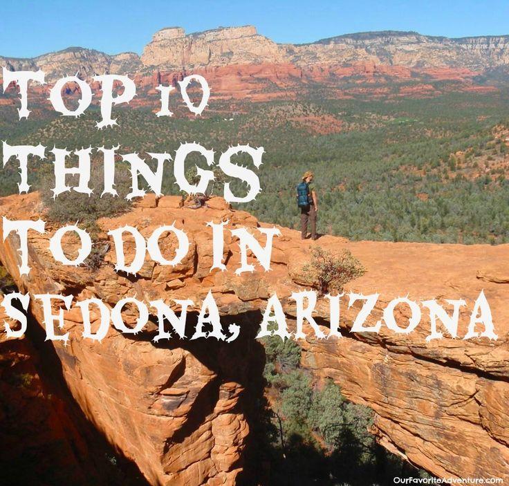 Top 10 Things to do In Sedona, Arizona #Sedona