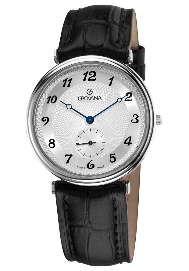 Price:$236.71 #watches Grovana 1276.1532, Grovana is a firm that has made a name for itself in the Swiss watch making industry through innovation and flexibility. Up to the 1970s it made mechanical watches that were always state of the art.