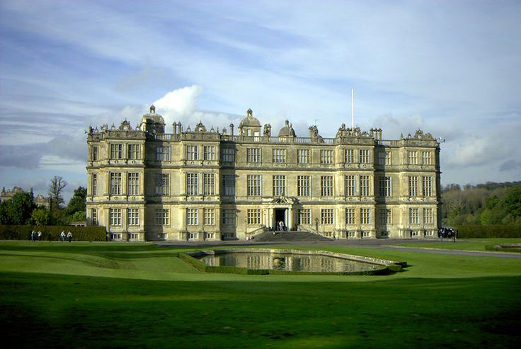 Longleat is an English country house, currently the seat of the Marquesses of Bath, adjacent to the village of Horningsham and near the towns of Warminster in Wiltshire and Frome in Somerset. It is noted for its Elizabethan country house, maze, landscaped parkland and safari park.