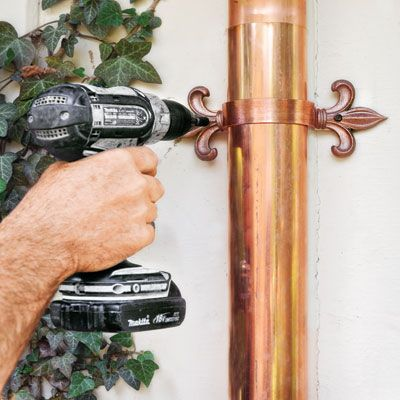 for installing half-round gutters