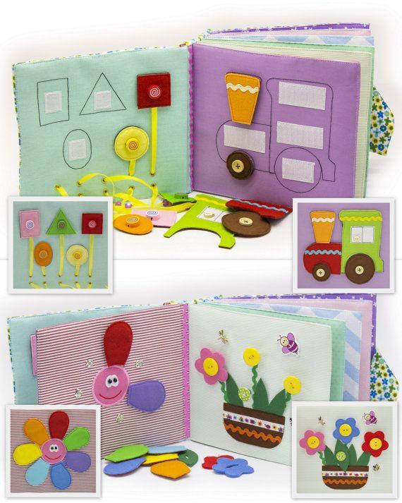 Libro tranquilla occupato Eco bambini di friendly di MiniMoms