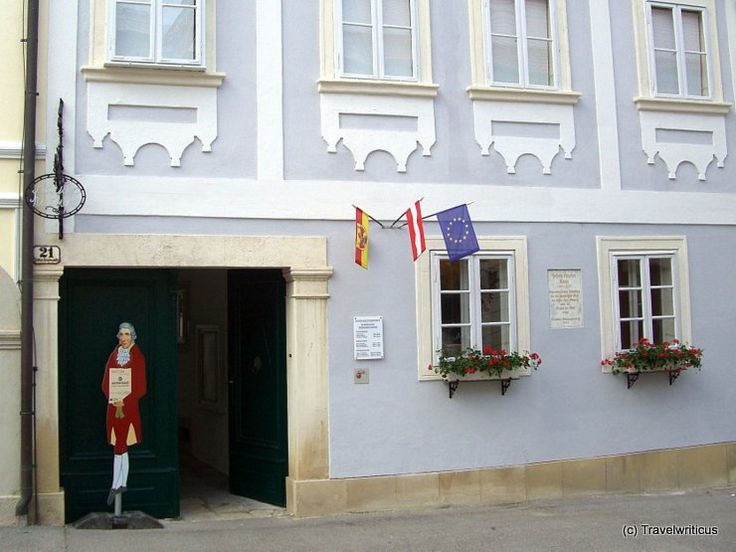 Former home of composer Joseph Haydn in Eisenstadt, Austria