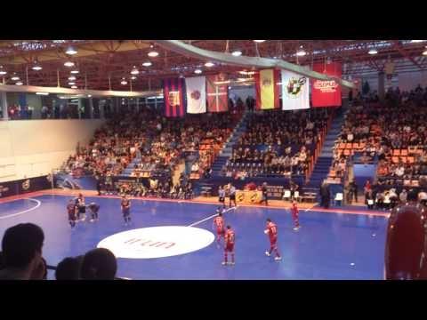 Football copa del rey futbol sala bar a vs elpozo de for Sala x murcia