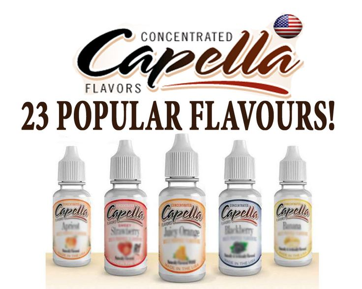 Original Bottle Capella Flavouring Concentrate Original 13ml bottle UK