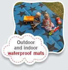 Cool outdoor and indoor mats for kids or the beach