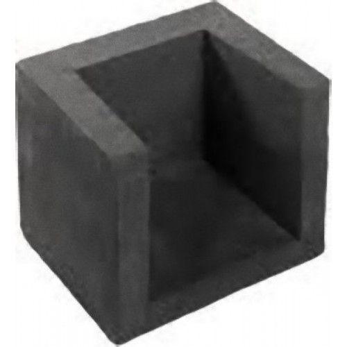 Uhoekelement 40x40x50cm zwart