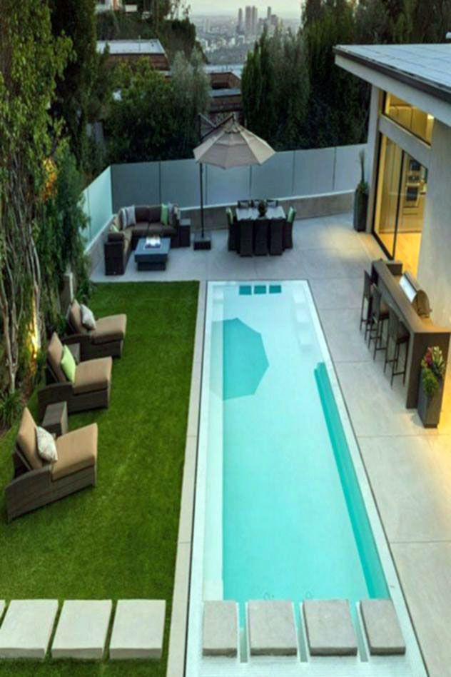 14 Amazing Backyard Pool Ideas Small Backyard Pools Lap Pool