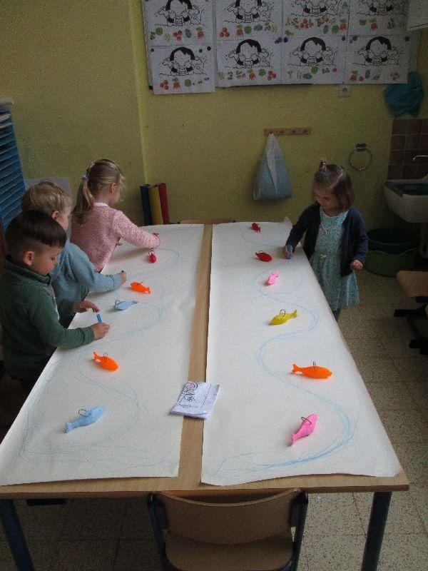 Eerste kleuterklas VBS Sint-katrien