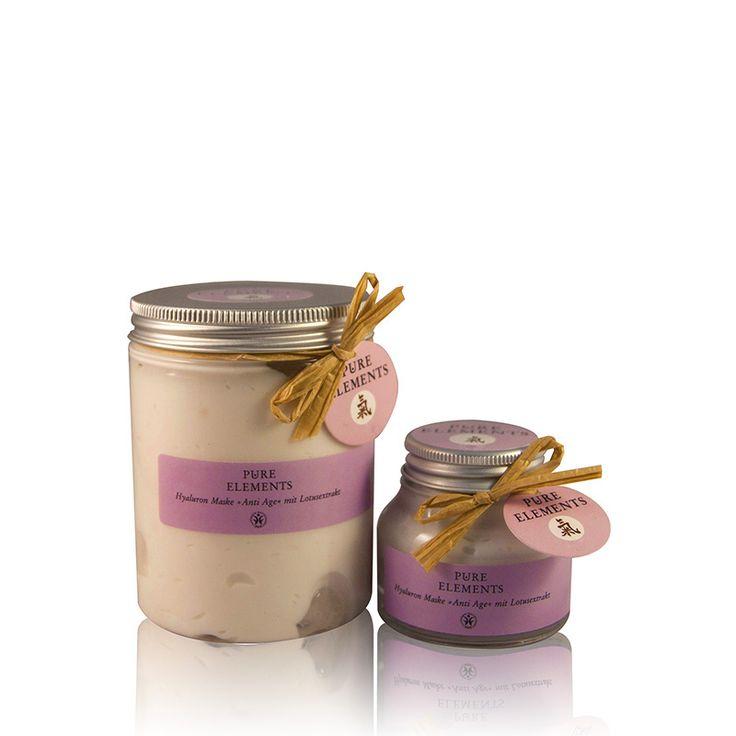 Pure Elements Hyaluron Gezichtsmasker Anti-age salon- en verkoopverpakking  voor salonhouders  http://www.purelements.nl/beautysalonsretail/