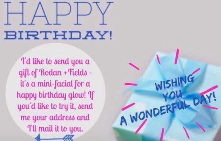 Happy birthday Rodan and fields