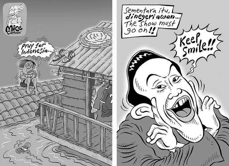 Mice Cartoon, Kompas 26 Januari 2014: Ironi.