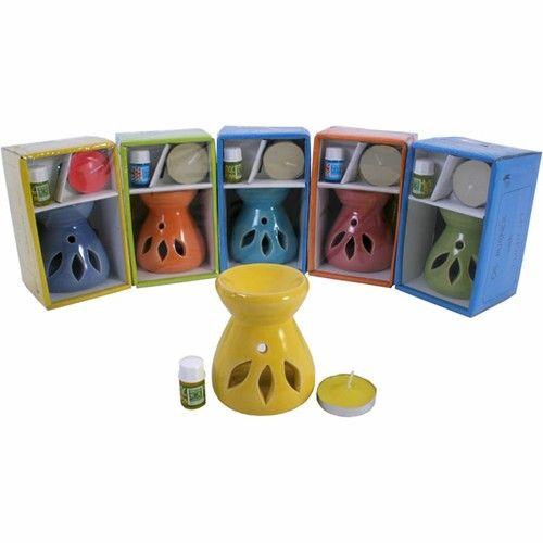 Small Oil Burner Set http://gemsandmore.co.uk/product/small-oil-burner-gift-set (direct) http://www.ebay.co.uk/itm/181672262261?var=&ssPageName=STRK:MESELX:IT&_trksid=p3984.m1558.l2649 (ebay)  #small #oil #burner #set #smalloilburner #gift #idea #giftideas #gems #and #more #gemsandmore