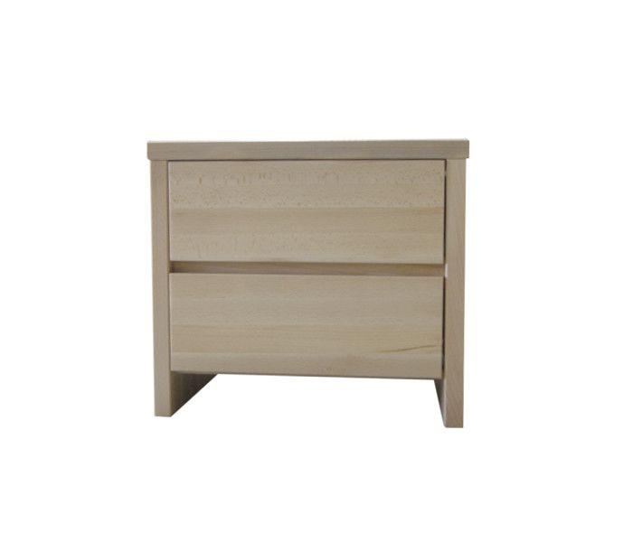 #szafkanocna #buk Szafka nocna bukowa[n27] Meble Drewniane - meble sosnowe producent, łóżka, komody, witryny