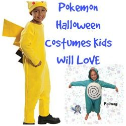 Are your kids crazy about Pokemon? Check out these Pokemon Halloween Costumes…