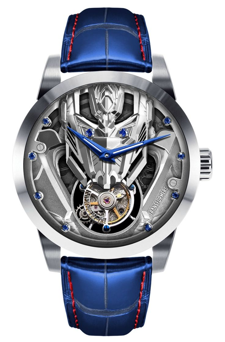 Transformers!?! Awesome: Memorigin Transformers Tourbillon Watch with Optimus Prime