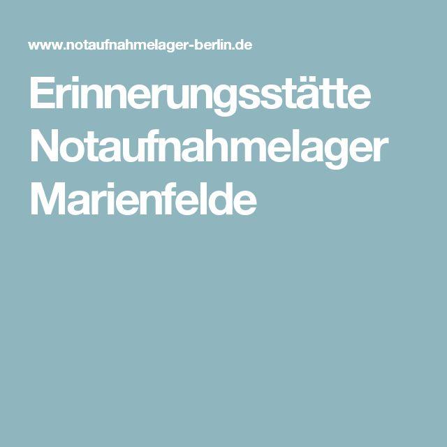 Erinnerungsstätte Notaufnahmelager Marienfelde