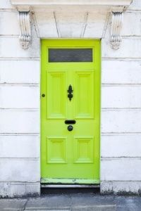 #neon #yellow #door #street & 137 best Colours / neon yellow and chartreuse images on Pinterest Pezcame.Com