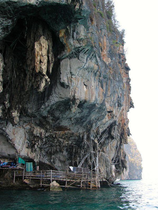 La cueva del Vikingo. Mar de Andamán