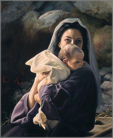 Mary and Baby Jesus Liz Lemon Swindle