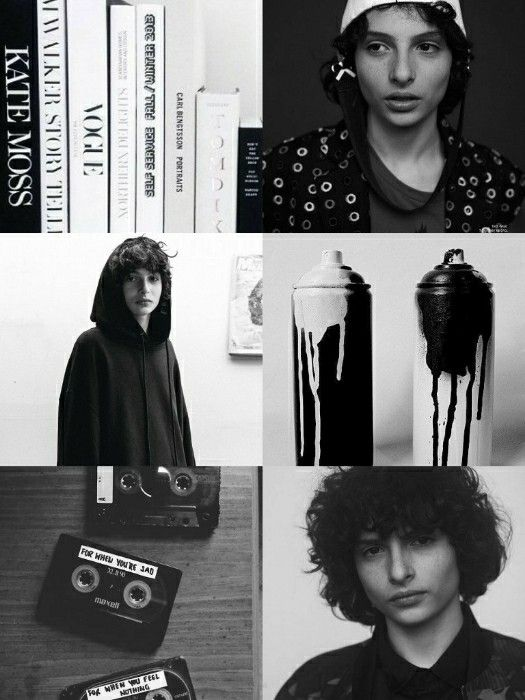 Finn Wolfhard wallpaper black and white •Made by Zoomer Tozier•