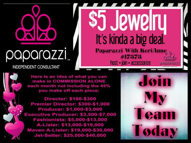 Become a paparazzi consultant today www for Paparazzi jewelry find a consultant