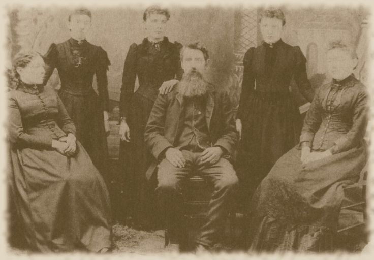Ingalls Family ca. 1894  Caroline, Carrie, Laura, Charles, Grace, and Mary  The Real Little House on the Prairie