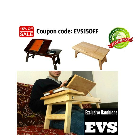Macbook Accessories Macbook Stand Wooden Tray Desk by EverestStore