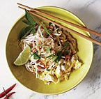 Expert on Asian cuisines Corinne Trang shows you how to make this iconic Thai noodle dish.  I have not made this yet and it got mixed reviews - people loved it or hated it.  If you make it please let me know and post a comment!
