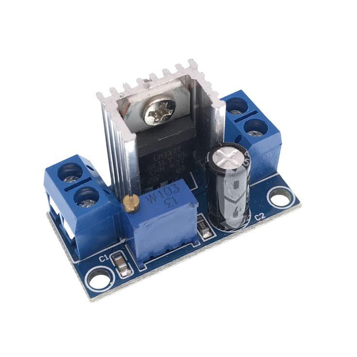 10pcs LM317 DC-DC Converter Buck Step Down Circuit Board Module Linear Regulator LM317 Adjustable Voltage Regulator Power Supply #Affiliate
