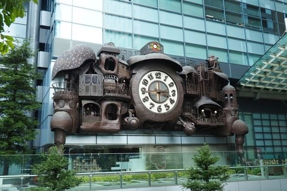 The Giant Ghibli Clock – Tokyo, Japan | Atlas Obscura  http://www.atlasobscura.com/places/the-giant-ghibli-clock?utm_source=Atlas+Obscura+Daily+Newsletter&utm_campaign=eb01396bd2-Newsletter_11_23_2016&utm_medium=email&utm_term=0_f36db9c480-eb01396bd2-63218097&ct=t(Newsletter_11_23_2016)&mc_cid=eb01396bd2&mc_eid=17ddb655fd