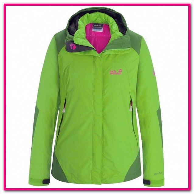 sports shoes 44e9e 11980 jack wolfskin 3in1 jacke damen grün-Jack Wolfskin 3 in 1 ...