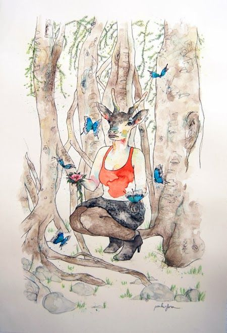 Área Visual: Las ilustraciones de Paula Sifora