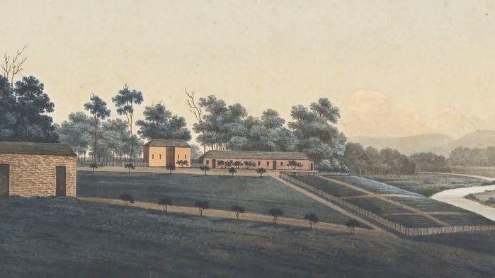 GW Evans 'Blighton Farm' 1810 - The Arts (3,4,7,8)