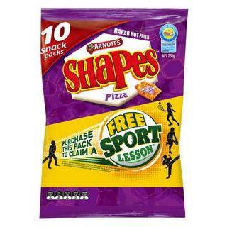Shapes Multipack Pizza Snacks – Arnott's 250g | Shop Australia
