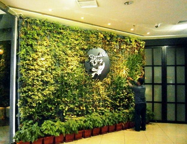 Vertical Garden Double Bay Resto Menteng Jakarta Vertical