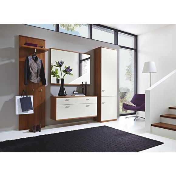 4 teilige garderobe von dieter knoll beste qualit t gaderobe bedroom desk entryway und bedroom. Black Bedroom Furniture Sets. Home Design Ideas
