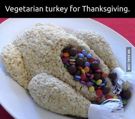 Stupid joke but great idea for kids for thanksgiving dessert! :)