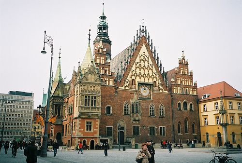 Breslau, Germany is where my Grandmother's family lived before the war. It is now Wroclaw, Poland