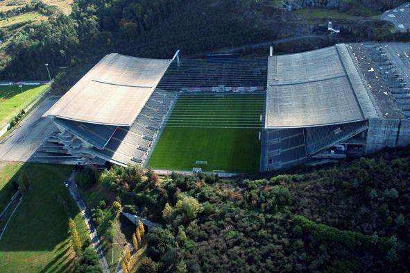 Sporting Clube de Braga Estádio Municipal Capacity: 30.286